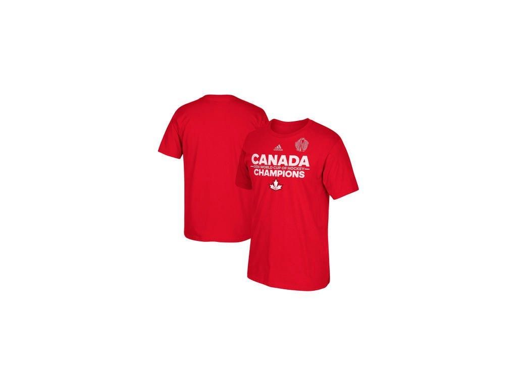 Tričko Team Canada 2016 World Cup of Hockey Champions Authentic ... 8b3cc0e2f3