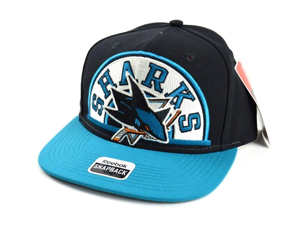 a4a9ff04534 Kšiltovka San Jose Sharks Arched Snapback - Fanda-NHL.cz