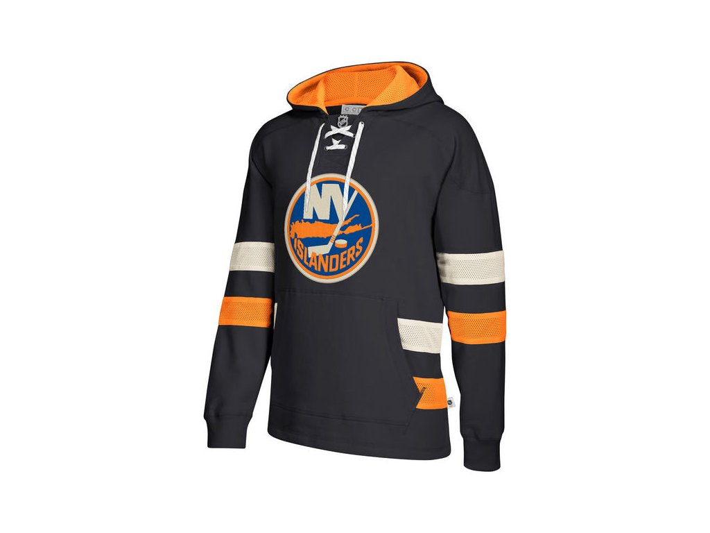 Mikina New York Islanders 2017 CCM Jersey Pullover Hoodie Black ... ec9f0a10c