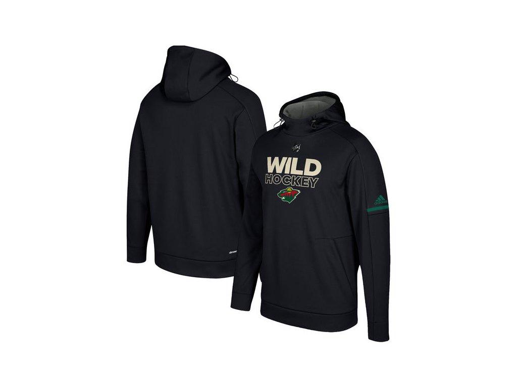Mikina Minnesota Wild Authentic Pro Player Pullover Hoodie - Fanda ... 0045f16f7c