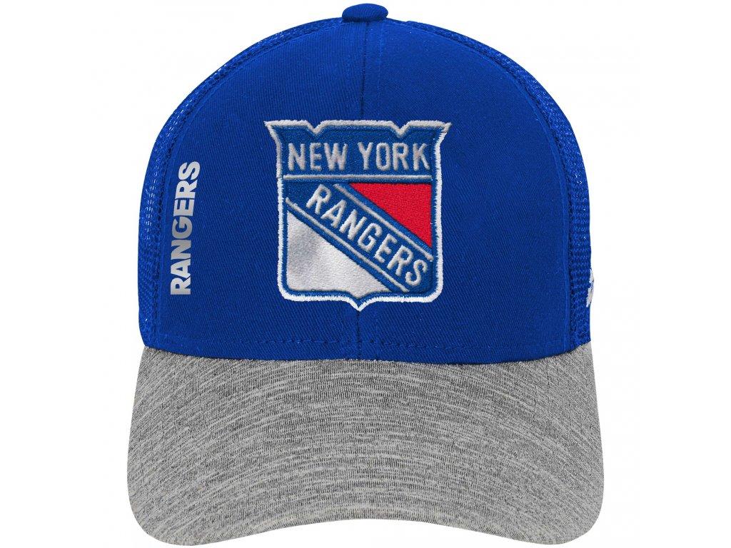 896ebc209f2 Dětská kšiltovka New York Rangers NHL Start Of Season Meshback ...