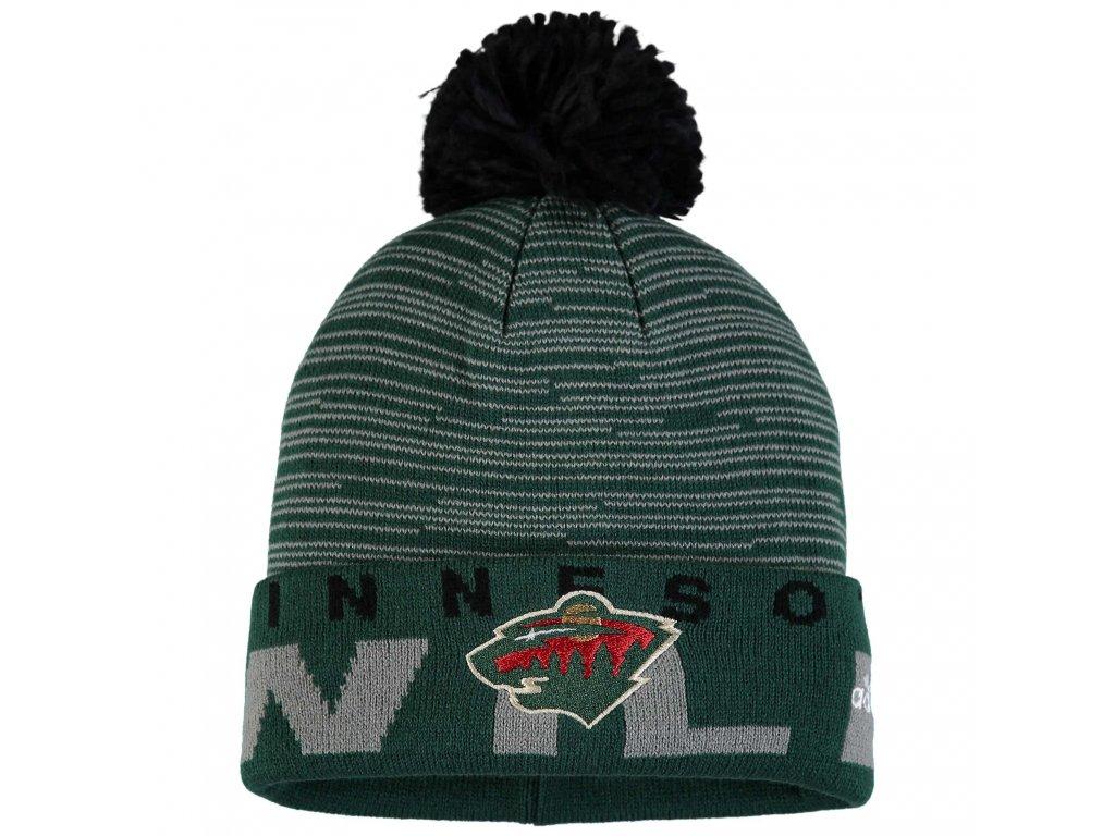 Dětská zimní čepice Minnesota Wild NHL Team Logo Cuffed 51a02fca41