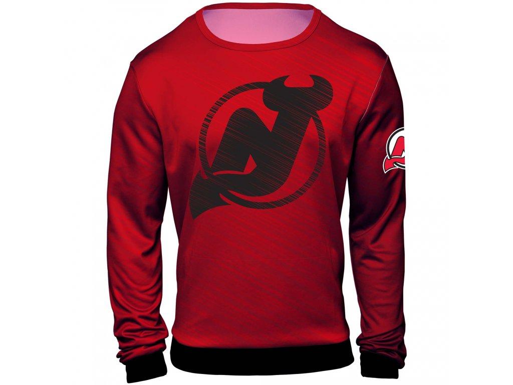 Mikina  New Jersey Devils NHL Static Rain