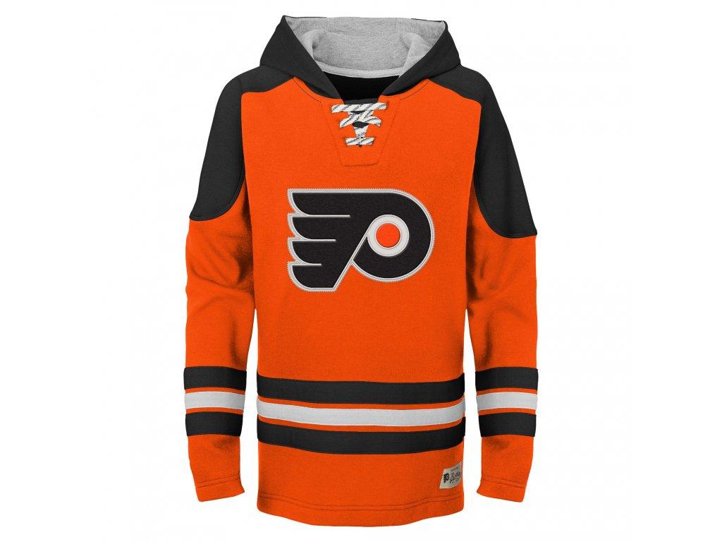 63edfe1ca Dětská mikina Philadelphia Flyers NHL Legendary Pullover - Fanda-NHL.cz