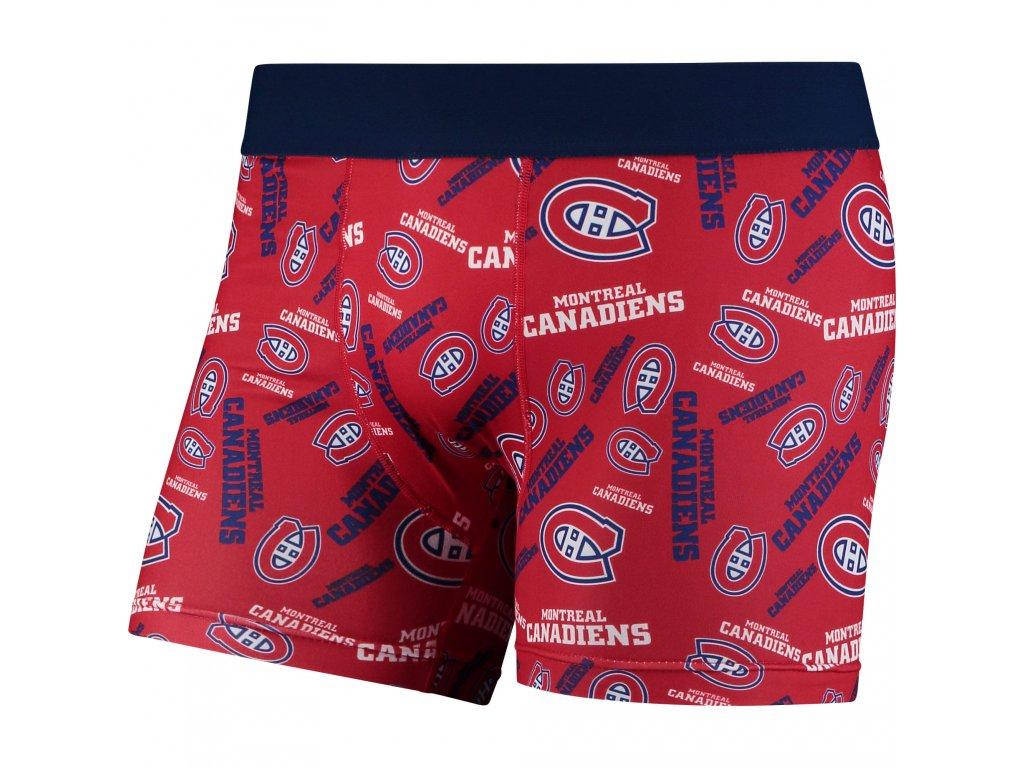 Pánské boxerky  Montreal Canadiens NHL Repeat Logo Compression