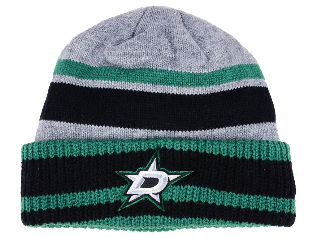 72d4b3bccf5 Zimní čepice Dallas Stars adidas NHL Heathered Grey Beanie - Fanda ...