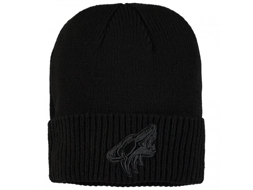 factory price d373b 79eeb ... wholesale zimní epice arizona coyotes fanatics branded team haze cuffed knit  hat 63019 b5365