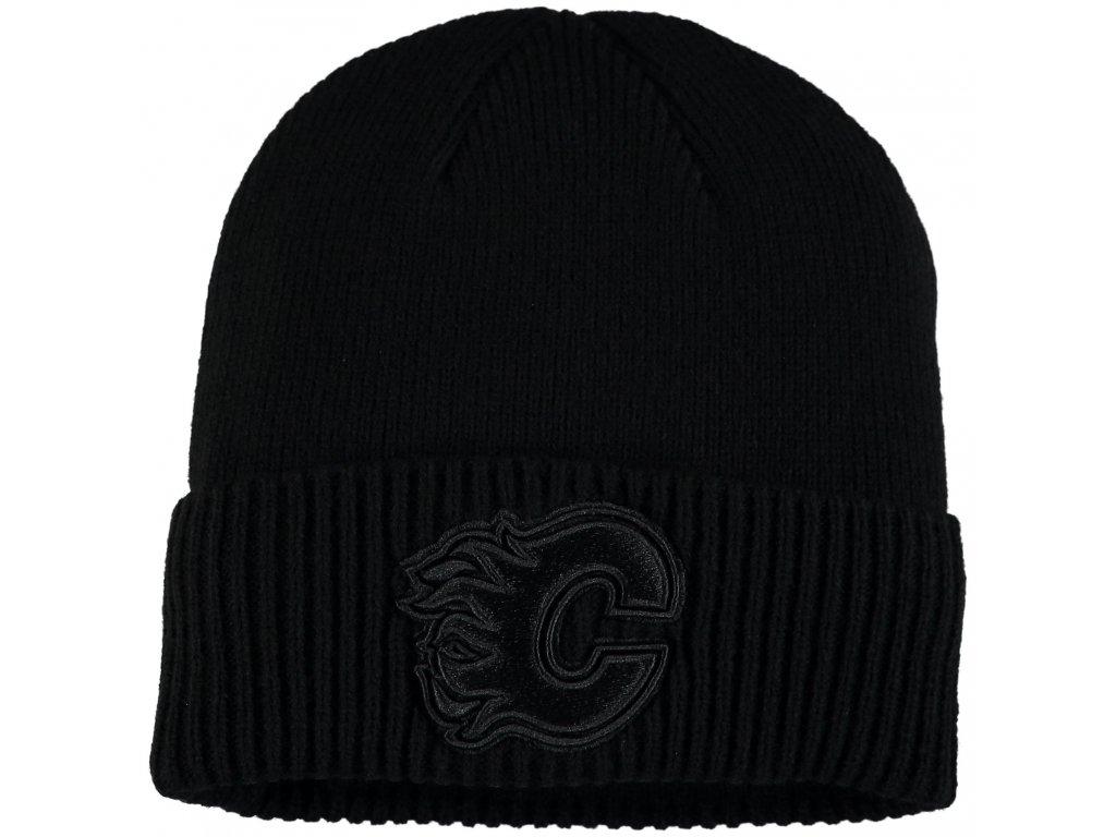 a7087a36c4a Zimní čepice Calgary Flames Fanatics Branded Team Haze Cuffed Knit ...
