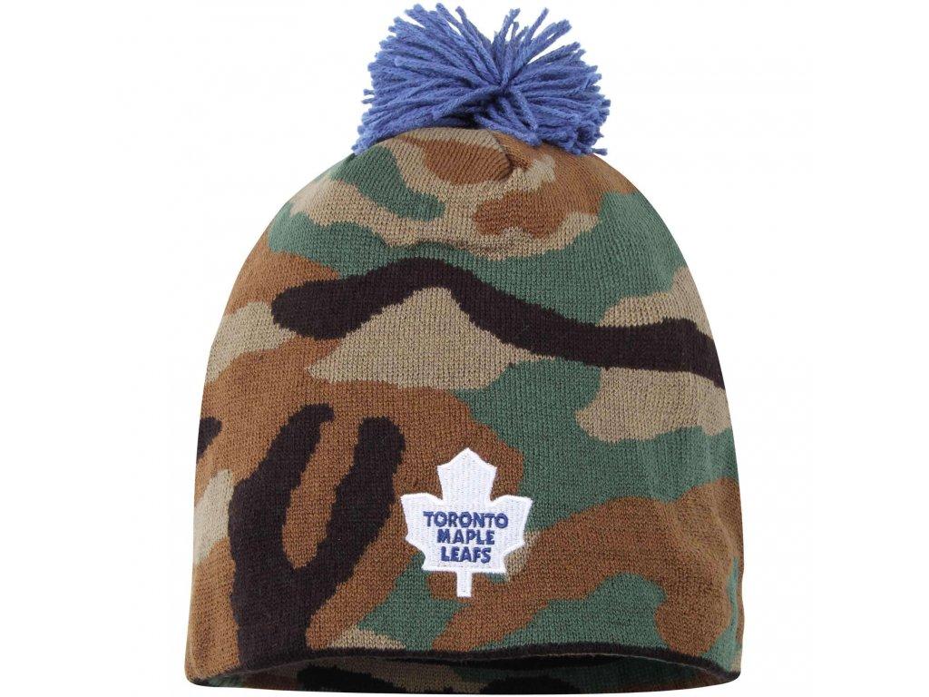 Kulich Toronto Maple Leafs Reebok Camo Cuffless Knit Beanie With Pom ... b504884a06