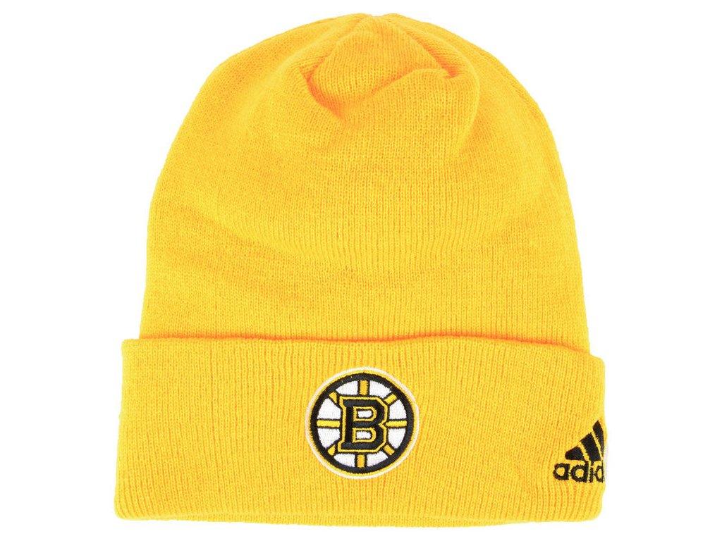 970e62ab80924 new zealand zimní epice boston bruins adidas nhl basic cuff knit yell 0870a  e2f90