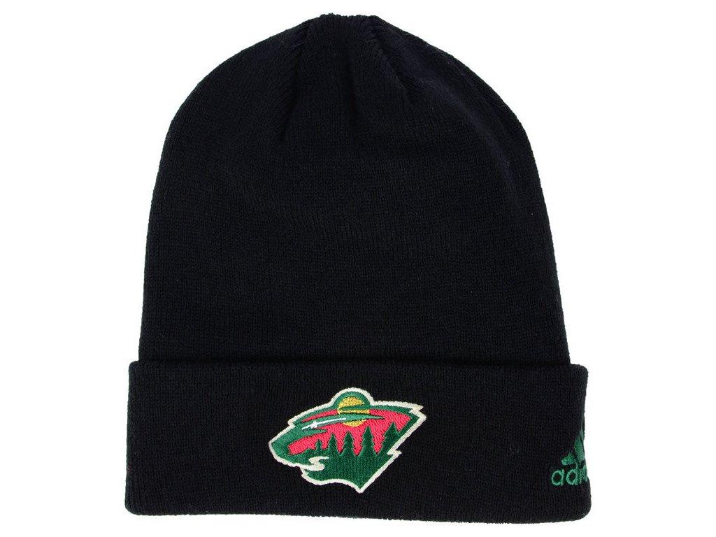 Zimní Čepice Minnesota Wild Basic Cuff Knit Černá - Fanda-NHL.cz d735358577