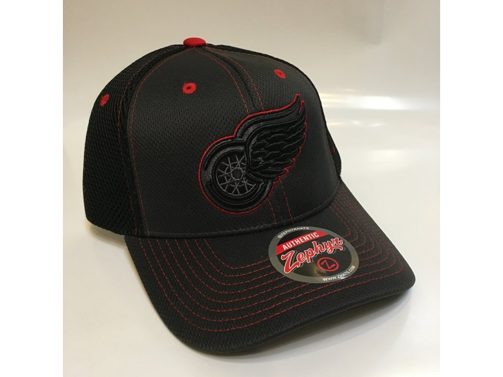 1f6cc980d68 Kšiltovka Detroit Red Wings Zephyr Blacklight Original Snapback ...