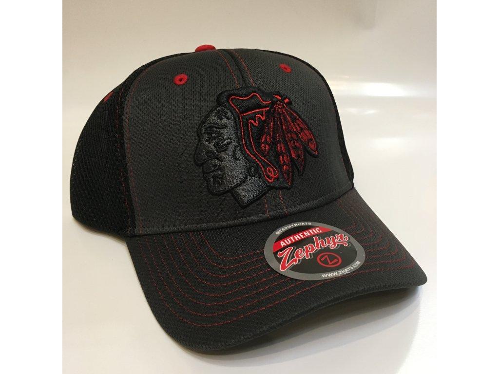 competitive price 9775c d33ae Kšiltovka Chicago Blackhawks Zephyr Blacklight Original Snapback