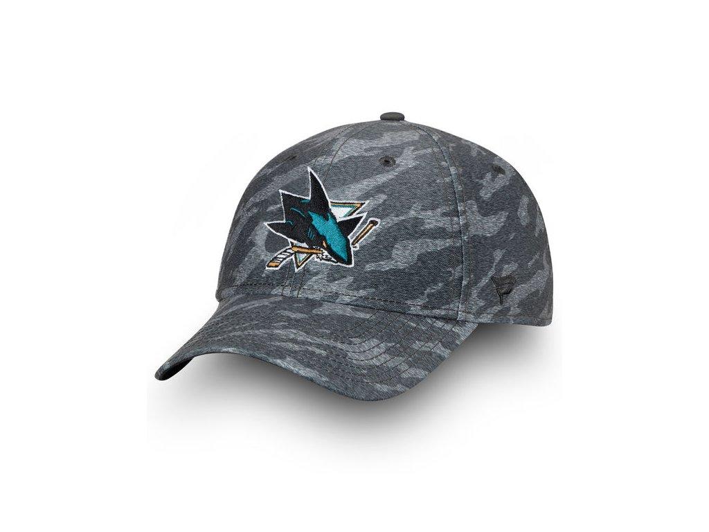 0d67f089f6f Kšiltovka San Jose Sharks Made2Move Camo Flex - Fanda-NHL.cz