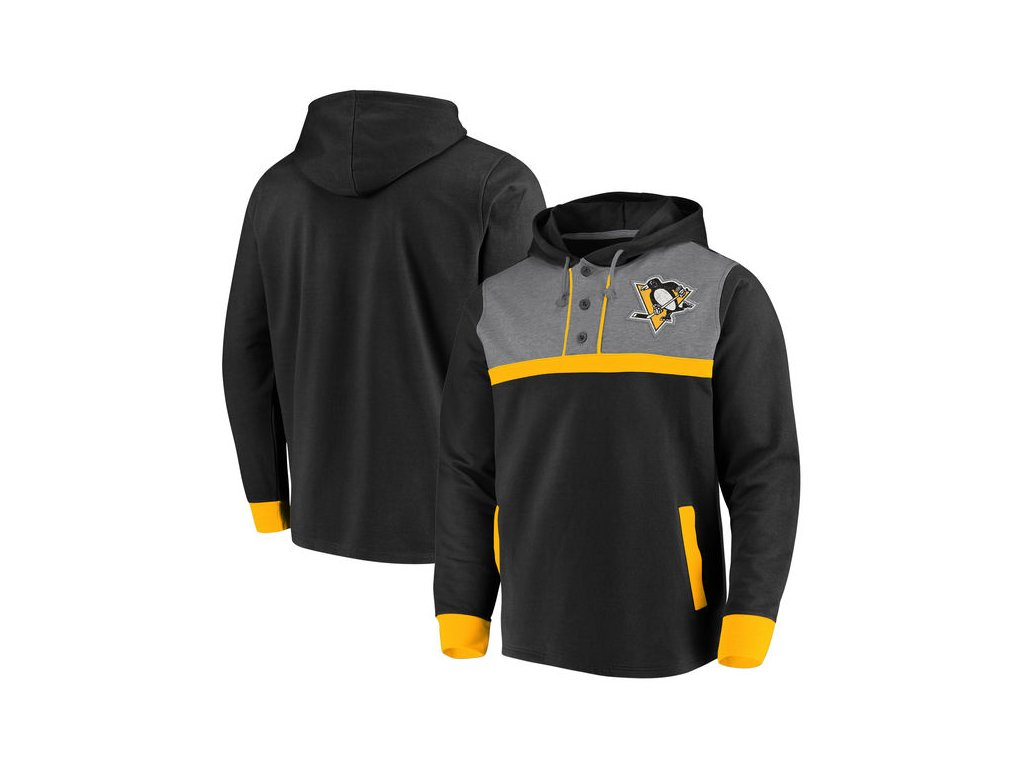 Mikina Pittsburgh Penguins Adidas Jersey Lace-Up Pullover Hoodie - Fanda-NHL .cz fe38ee689