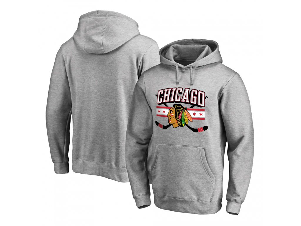 ad8c46a46 Mikina Chicago Blackhawks Hometown Collection Pullover Hoodie ...