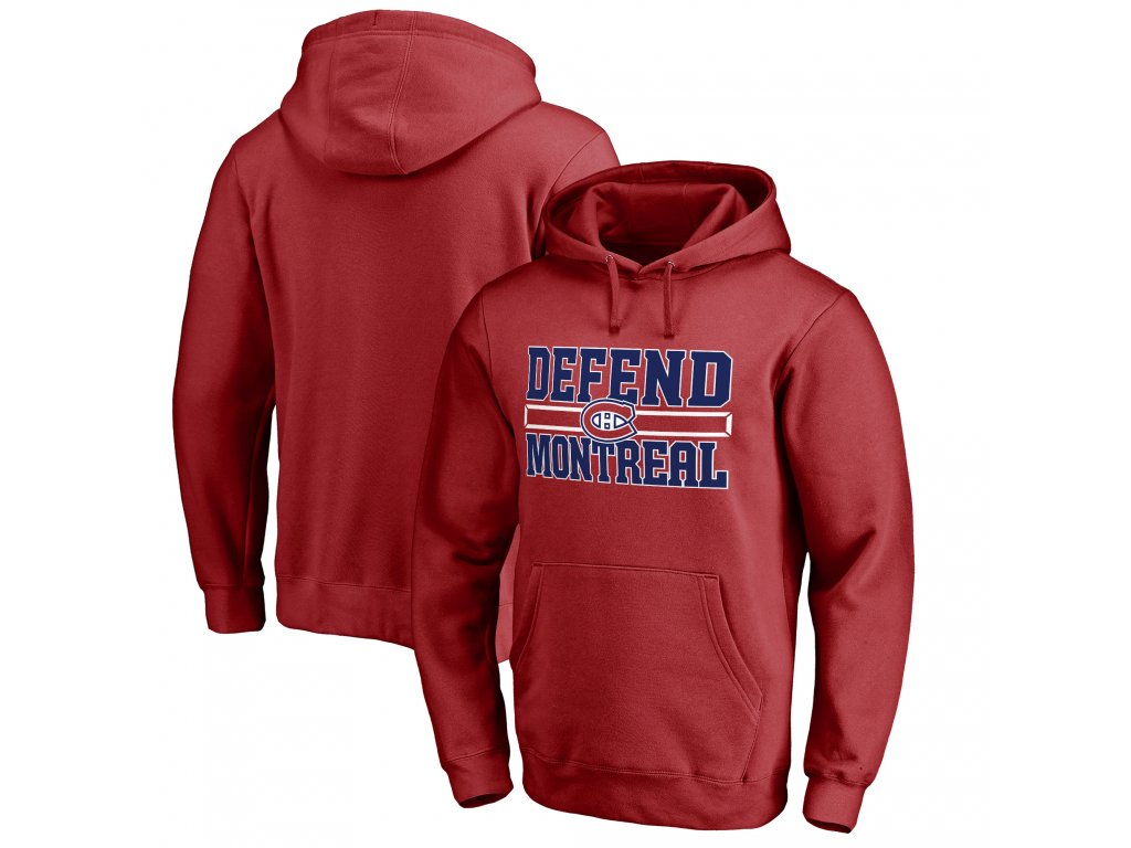 Mikina Montreal Canadiens Hometown Collection Defend Pullover Hoodie ... 8fce1dc892