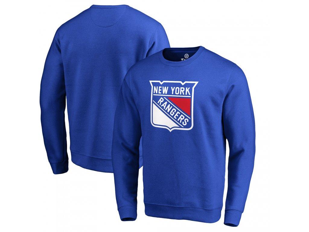 6e4e7b0d7 Mikina New York Rangers Primary Team Logo Pullover Sweatshirt ...