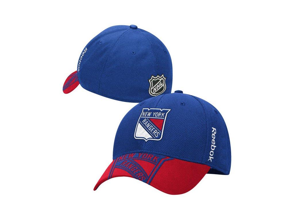 24619b6a75d Dětská Kšiltovka New York Rangers NHL Draft Structured Flex - Fanda ...
