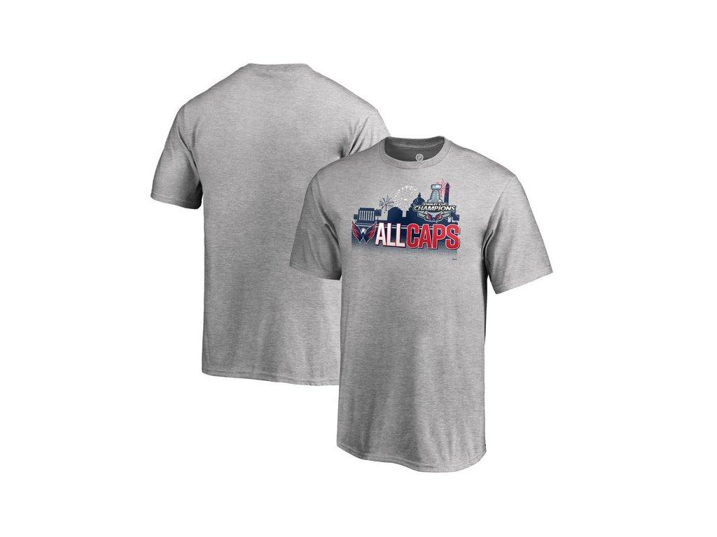 ead67cbe378 Dětské tričko Washington Capitals 2018 Stanley Cup Champions Change on the Fly  Celebration (Velikost Dětské