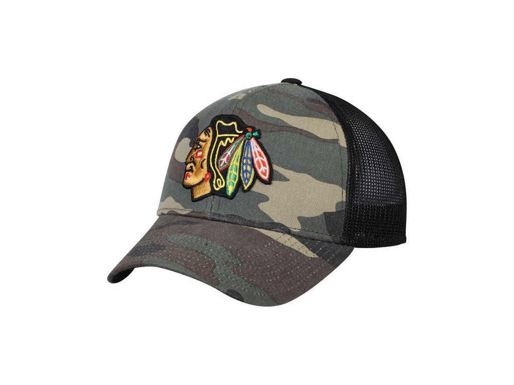 buy online 5eafc aad7d Kšiltovka Chicago Blackhawks Adidas Trucker - Fanda-NHL.cz