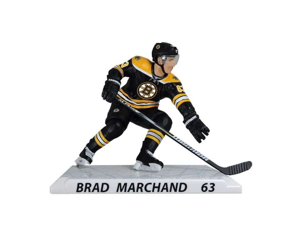 d7deb54cb82a Figurka  63 Brad Marchand Boston Bruins Imports Dragon Player Replica