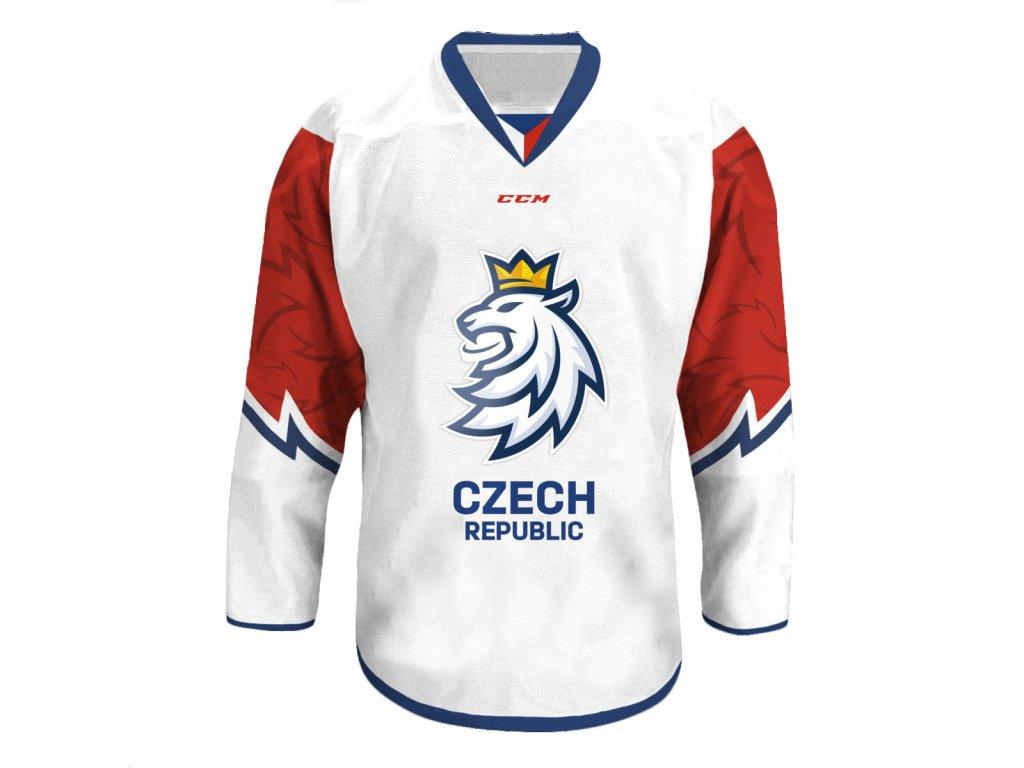 Fan Dres CCM Český Hokej - bílý - Fanda-NHL.cz 384e19ed7be
