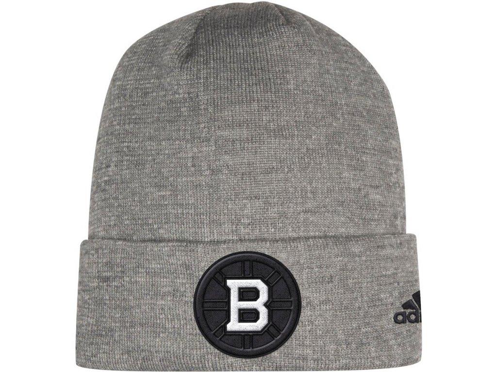 Zimní Čepice Boston Bruins Adidas India Cuffed Knit