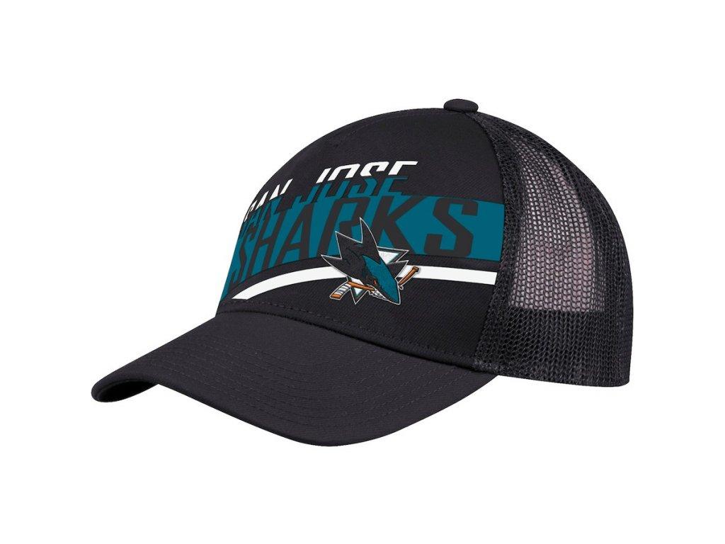 da1586909e0 Kšiltovka San Jose Sharks Adidas Laser Trucker - Fanda-NHL.cz