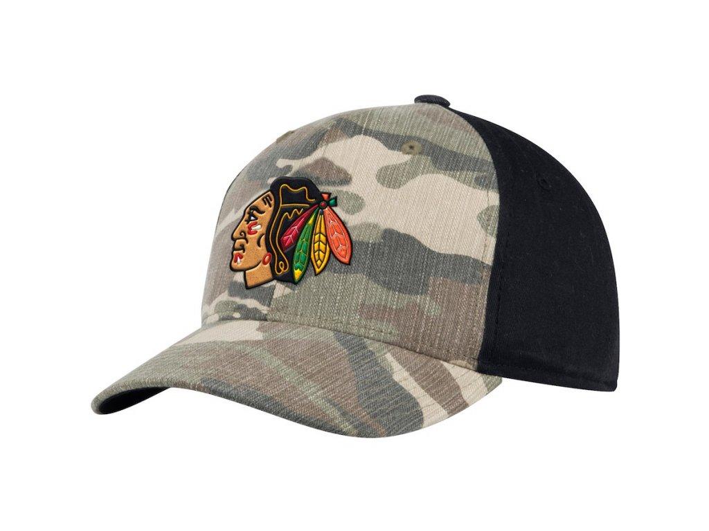Kšiltovka Chicago Blackhawks Adidas Camo Adjustable - Fanda-NHL.cz 315737221e