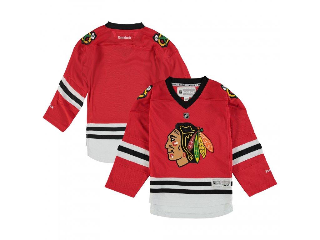 521e502aa Dětský dres Chicago Blackhawks Reebok Replica Home - Fanda-NHL.cz