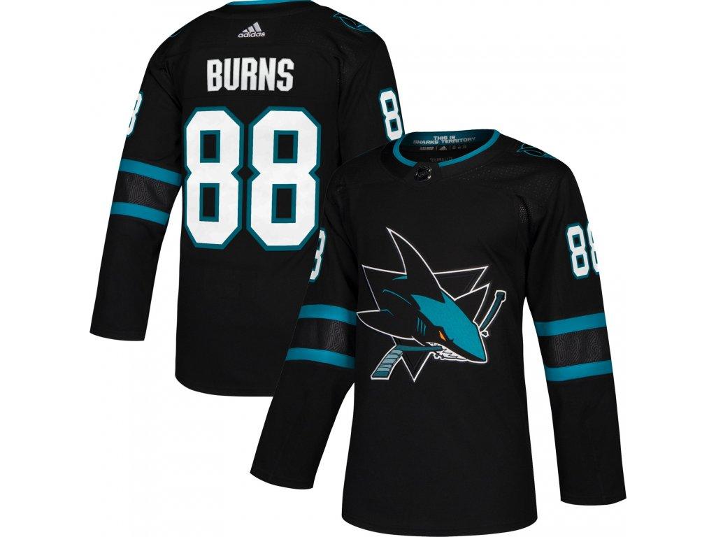 purchase cheap 33535 8a740 Dres San Jose Sharks #88 Brent Burns adizero Alternate Authentic Player Pro