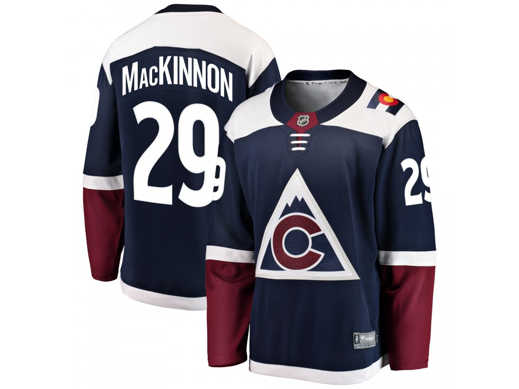 Dres Colorado Avalanche  29 Nathan MacKinnon Breakaway Alternate Jersey b2889a770a