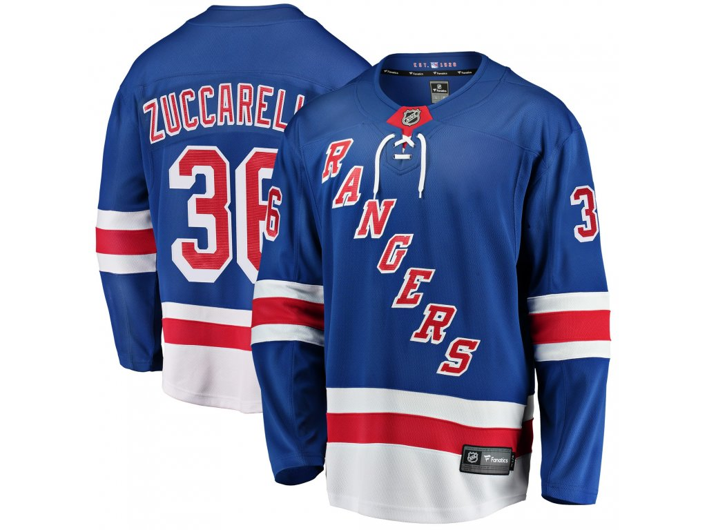timeless design ff87f 0ea54 Dres New York Rangers #36 Mats Zuccarello Breakaway Alternate Jersey