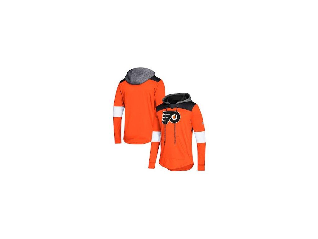 best sneakers 70813 543ca Mikina Philadelphia Flyers Adidas Platinum Jersey Pullover Hoodie
