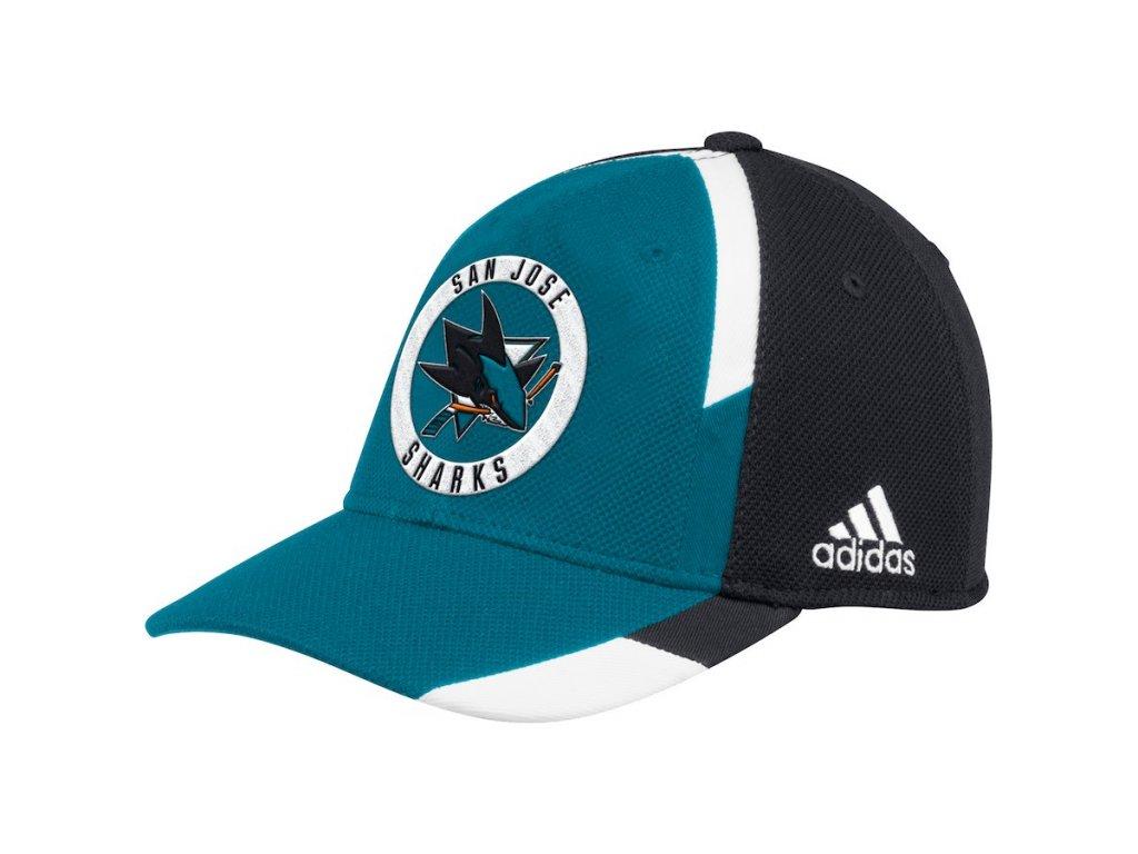 ef29d91e211 Kšiltovka San Jose Sharks Adidas Echo Flex - Fanda-NHL.cz