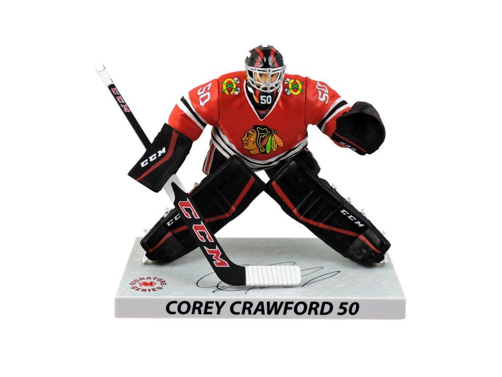 Figurka Chicago Blackhawks Corey Crawford  50 Imports Dragon Player ... b035b4c880