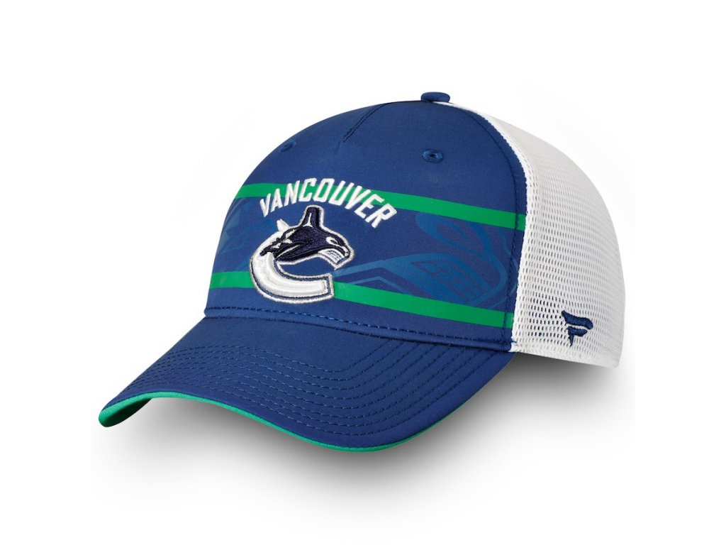 5bd5c661de3 Kšiltovka Vancouver Canucks Authentic Pro Second Season Trucker ...