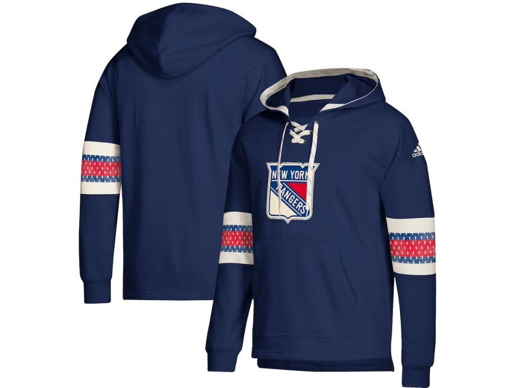size 40 69d2f 1197d Mikina New York Rangers Adidas Jersey Lace-Up Pullover Hoodie