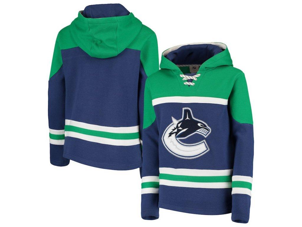 Dětská Mikina Vancouver Canucks Asset Lace-Up Pullover Hoodie ... a294775a2