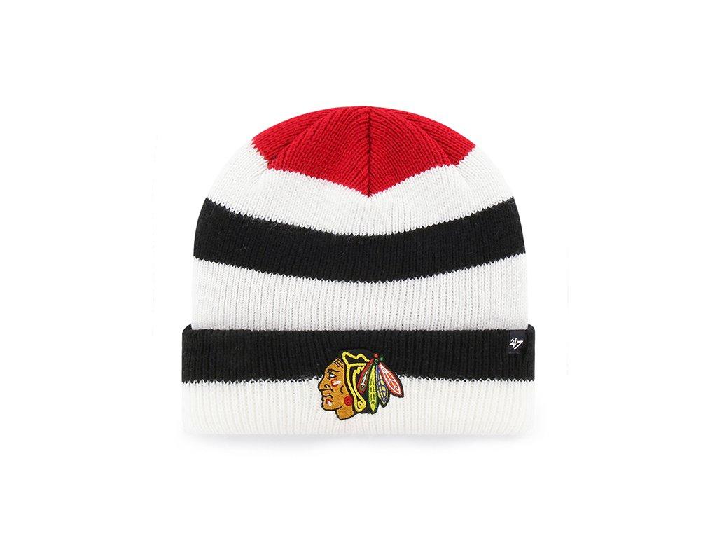 962cbcda2ff Zimní Čepice Chicago Blackhawks 47 Shortside Cuff Knit - Fanda-NHL.cz