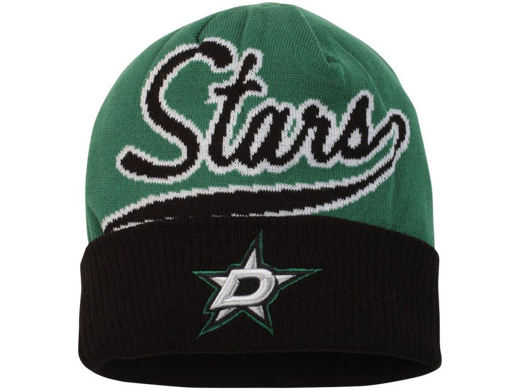 Zimní Čepice Dallas Stars Faceoff Jacquard - Fanda-NHL.cz 383a048fe5