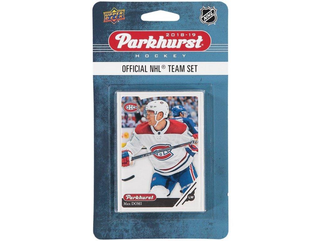 Hokejové Karty Montreal Canadiens Upper Deck Parkhurst 2018/19 Team Card Set