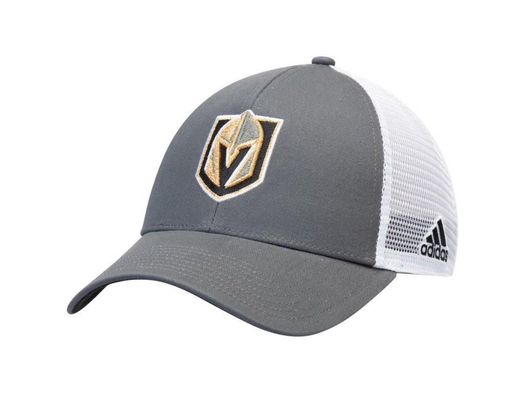 Kšiltovka Vegas Golden Knights Adidas Logo Trucker Snapback