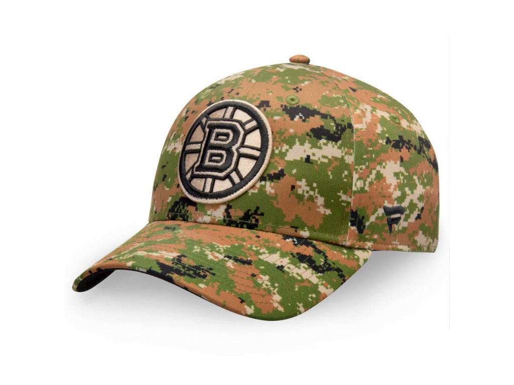 Kšiltovka  Boston Bruins Authentic Pro Military Appreciation Alpha Adjustable