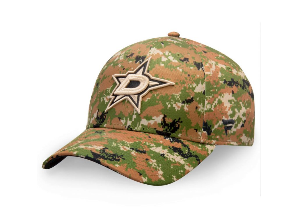 Kšiltovka  Dallas Stars Authentic Pro Military Appreciation Alpha Adjustable