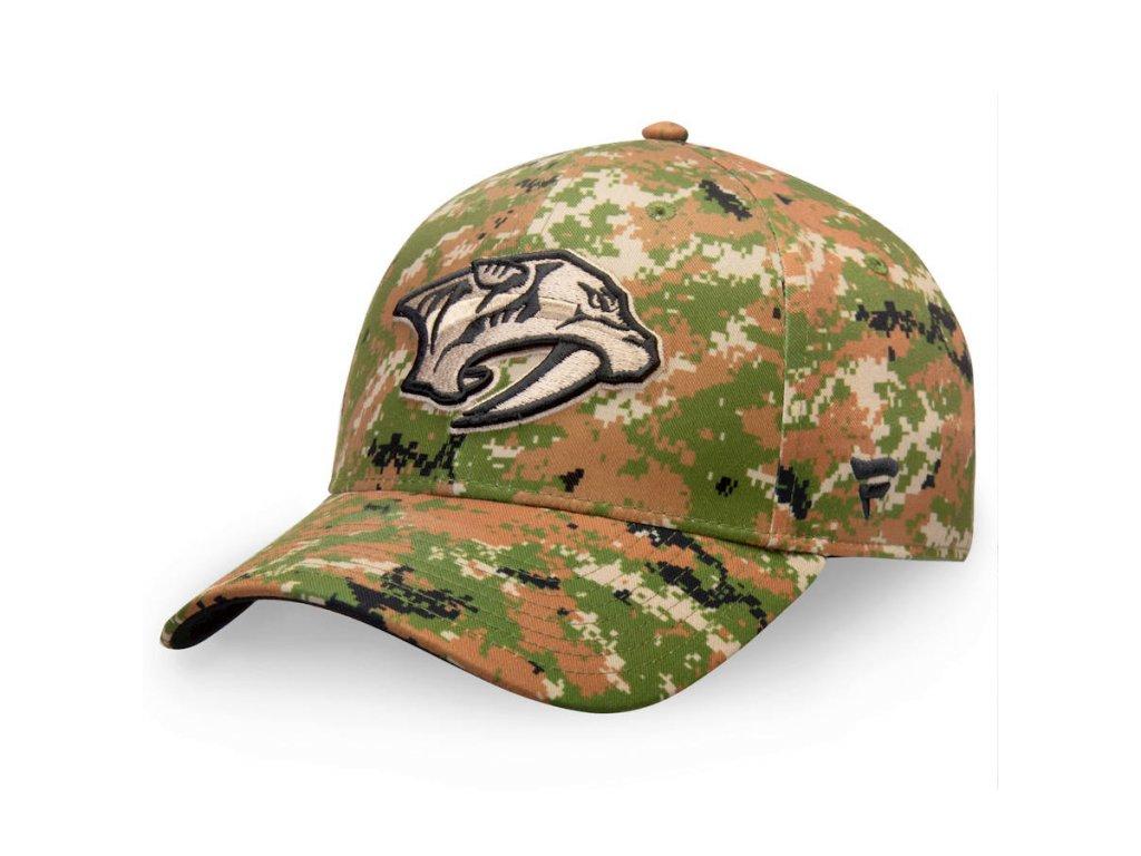 Kšiltovka  Nashville Predators Authentic Pro Military Appreciation Alpha Adjustable