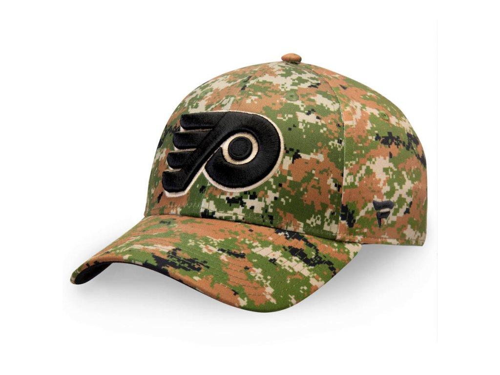 Kšiltovka  Philadelphia Flyers Authentic Pro Military Appreciation Alpha Adjustable