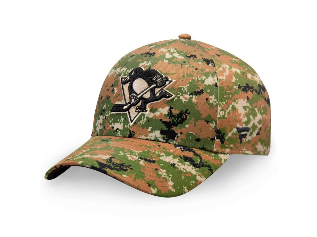 Kšiltovka  Pittsburgh Penguins Authentic Pro Military Appreciation Alpha Adjustable