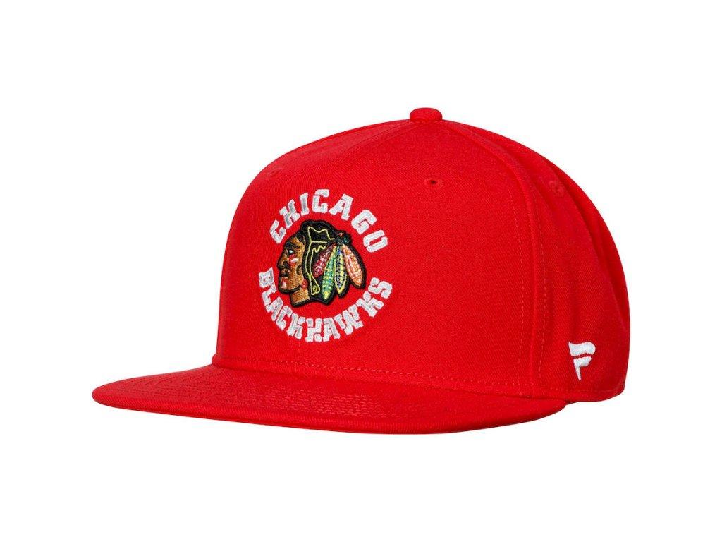 free shipping 534f5 6eef0 Dětská Kšiltovka Chicago Blackhawks Emblem Snapback